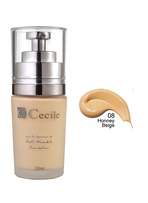 Cecile End The Appearance Of Anti Wrinkle Foundation  08 Renkli